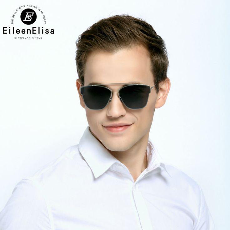 (29.58$)  Know more  - E&E Reflective Sunglasses 2016 New Brand Designer Luxury Men Sunglasses Men Mirror Designer Sunglasses Women Unisex Sunglasses
