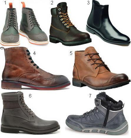 Мужская обувь стиль мода