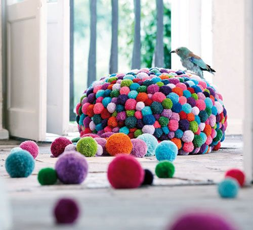 MYK Pom-Pom Furniture