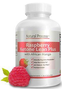 Pure Raspberry Keytone Lean Plus - Proprietary Formula with African Mango & Green Tea Extract :: Natural Process #weightloss #supplements #raspberryketone