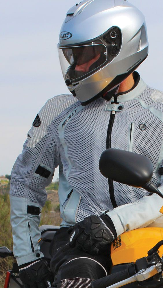 Phoenix ION - Armored mesh jacket with 360° featuring Innolite®.