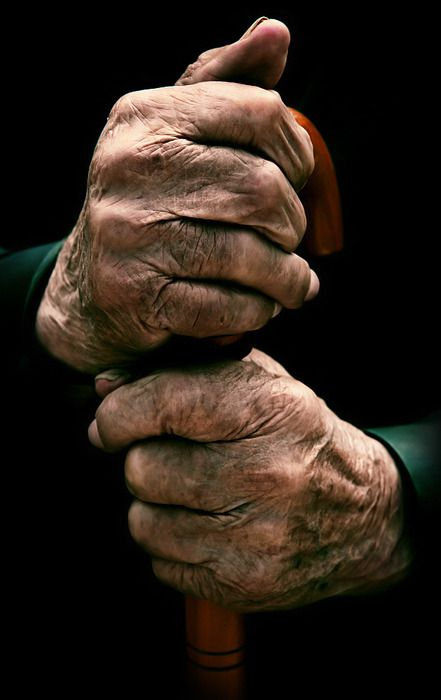 97 year old hands