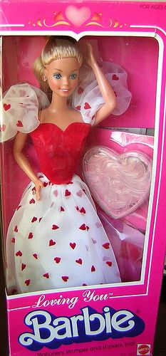I had this Barbie and this was my FAVORITE outfit to dress them in!