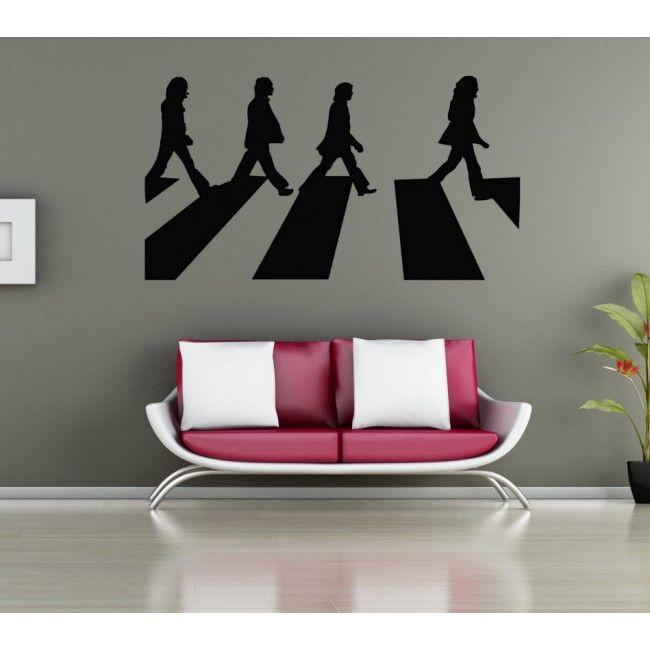 The Beatles Abbey Road Premium Vinyl Wall Sticker