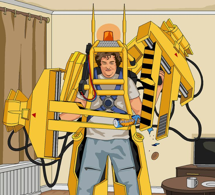 Dear Jim,  Please could you paint me Susan Boyle dressed as Ripley from Aliens wearing the big yellow robotic machine desperately trying to open a packet of Hobnobs.   Thanks,   Lyndon