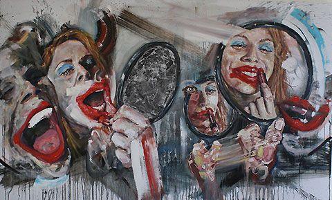 The inner dialogue of artist Wyatt Mills