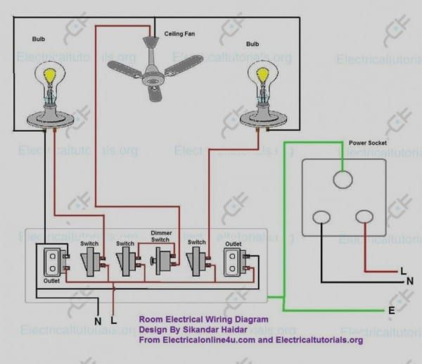 Basic House Wiring Diagram Home Electrical Wiring House Wiring Electrical Wiring