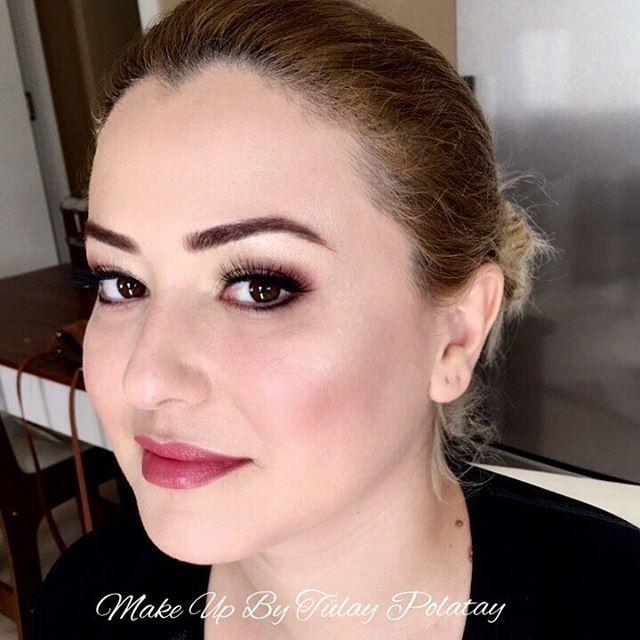 Güzel yüzlümle pazar günü tekrar fotoğraf çekimi için birlikteydik.Kirpikler şahane,kendi şahane,bu renk de çok güzel yakıştı.Profesyonel çekimleri sabırsızlıkla bekliyorum.���������� #wedding #weddingmakeup #weddingmakeupartist #beautymakeup #beauty #makeup #bride #bridal #mua #freelancemakeupartist #professionalmakeup #antalyamakyaj #antalyawedding #antalyagelin #gelinmakyajı #gelin #instamakeup #makeupaddict #eyelashes #kryolan #mac #makyajbloğu #makeupantalya #güzellik #nişan…