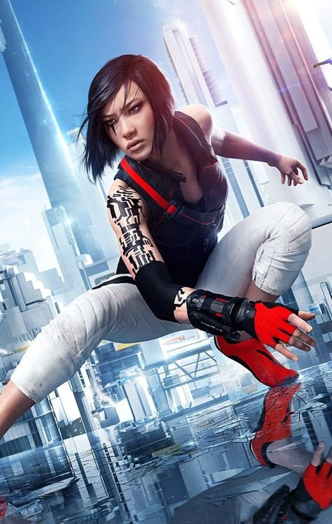 Mirror's Edge: Catalyst. First-person parkour, dystopian cyberpunk, non-sexualised Asian female protagonist... I know what I'm gonna play next.