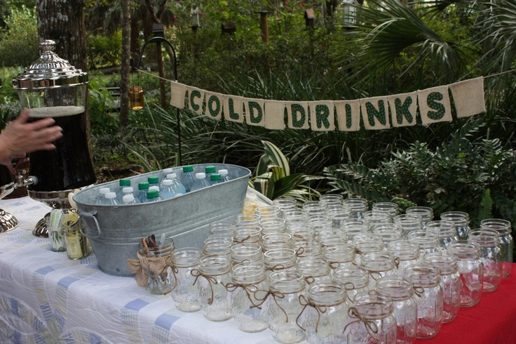 Peter and Kristin's Rehearsal Dinner - Picnic - Cold Drinks - by Iris