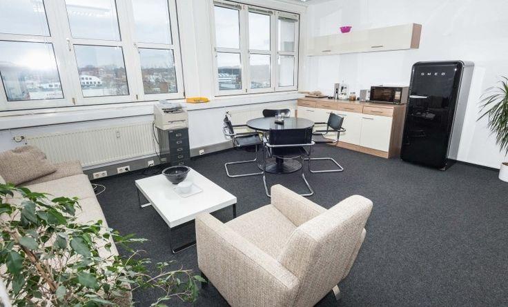 Büroraum in Anwalts Bürogemeinschaft #Büro, #Bürogemeinschaft, #Office, #Coworking, #Hamburg