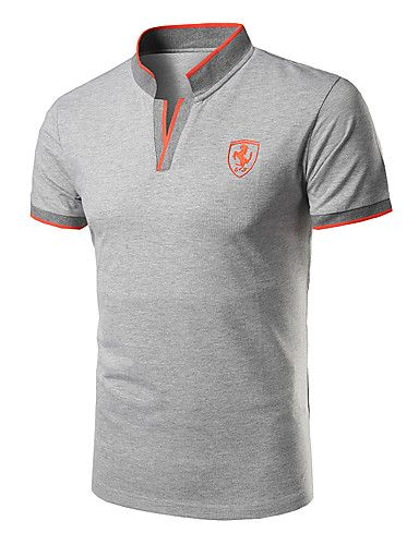 Hombre Simple Deportes Formal Casual Diario Polo 1fde480dbd233