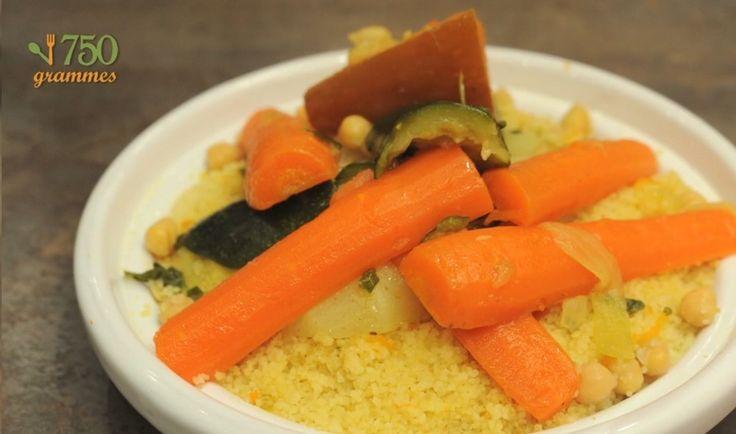 Recette - Couscous aux légumes en vidéo