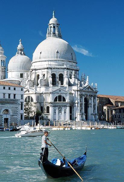 Basilica della Salute, Venice, Italy. Go to www.YourTravelVideos.com or just click on photo for home videos and much more on sites like this. http://fancytemplestore.com