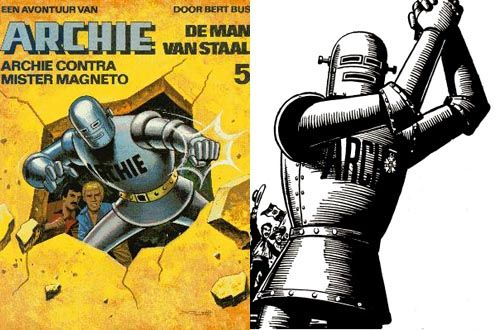 A Journal of Zarjaz Things - Reprint This! Robot Archie