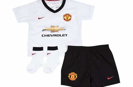 Nike Manchester United Away Kit 2014/15 - Infants Manchester United Away Kit 2014/15 - InfantsTHREE-PIECE SET WITH GAME-DAY STYLEThe 2014/15 Manchester United Infants Away Kit includes a home jersey, shorts and socks that honour The Red Devils with http://www.comparestoreprices.co.uk/sportswear/nike-manchester-united-away-kit-2014-15--infants.asp