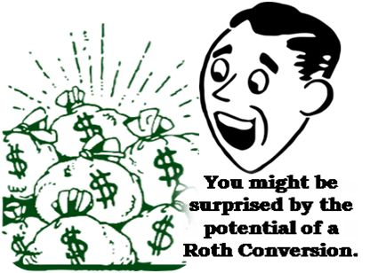 """Moving assets from a good old fashioned IRA into a Roth IRA is called a """"Roth Conversion.""""  The main difference between the two types of IRAs is that one is taxed when funds are distributed (the traditional IRA) and the other is taxed prior to making the contribution (Roth IRA).  Your contribution may be tax deductible up front on a traditional IRA contribution or you can get the benefit of tax free distributions on a Roth IRA.  Both can be terrific savings vehicles."""