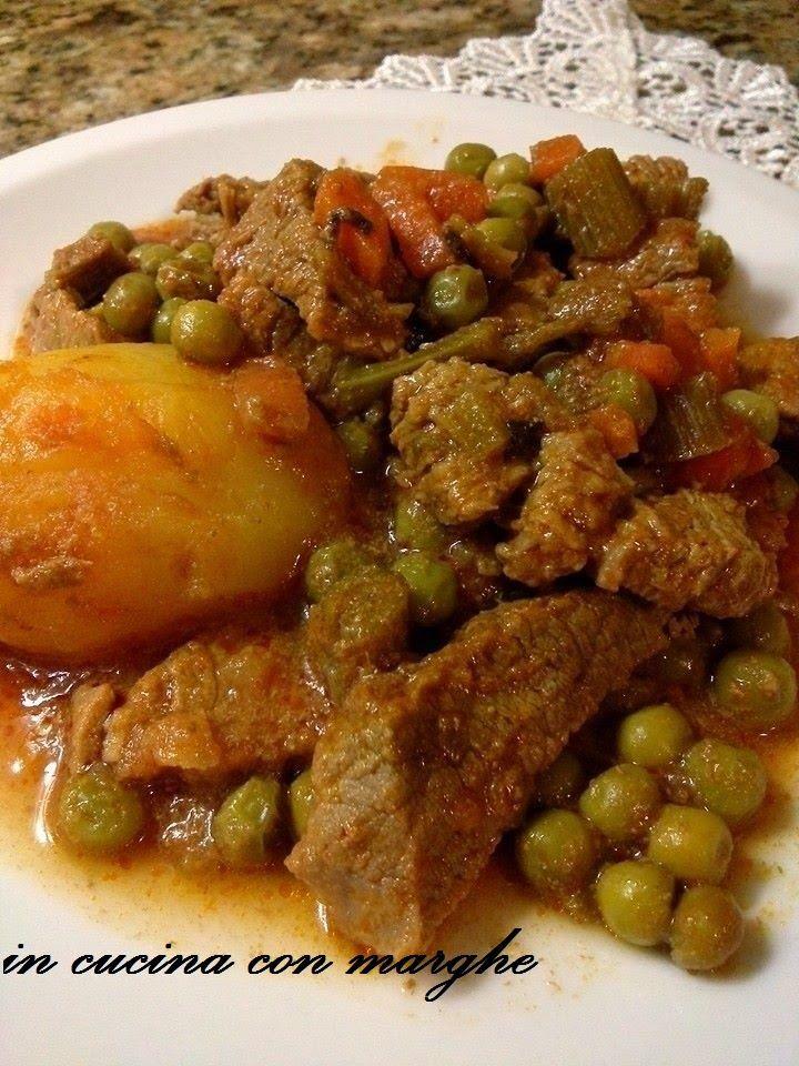 In Cucina con... Marghe! : Spezzatino con patate e piselli
