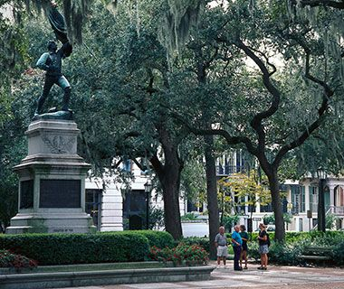 Savannah, GA This Georgia city filled with historic squares and parks gets high marks for being like the ideal party girl—fun-loving, but polite enough that she never spills her drink. If your dream ladies-night-out is spent on a massage table, The Westin in the Savannah River Street District offers monthly spa evenings, where it stays open late and offers discounts on treatments (like the oh-so-southern mint julep body soufflé). If you can't decide between cocktails and dessert afterward…