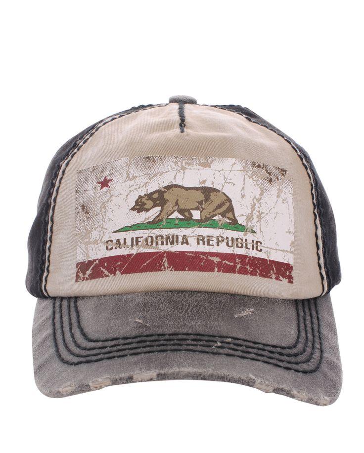 California Bear Baseball Cap