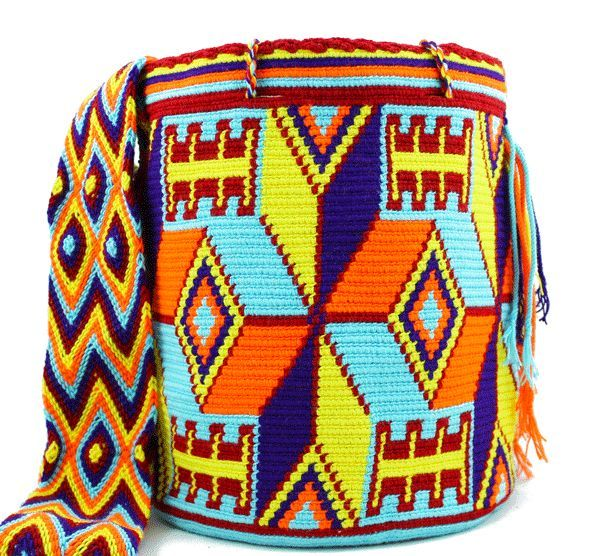 handmade bag - Mobolso's handmade bags are fit for a world traveler with a flair for fashion. Inspired by ethnic weaving practices, these accessories are av...