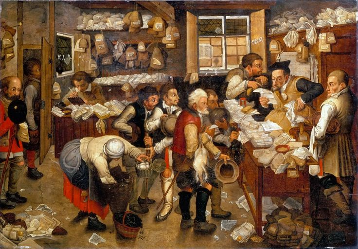 Pieter Brueghel the Younger - The Tax Collector  #17th #Classic #Painting #Pieter #Brueghel the #Younger