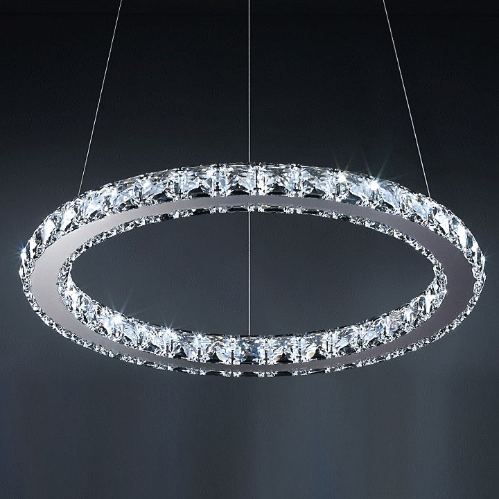21 best luxury lighting images on pinterest luxury lighting circle crystal suspension by swarovski at lumens mozeypictures Image collections