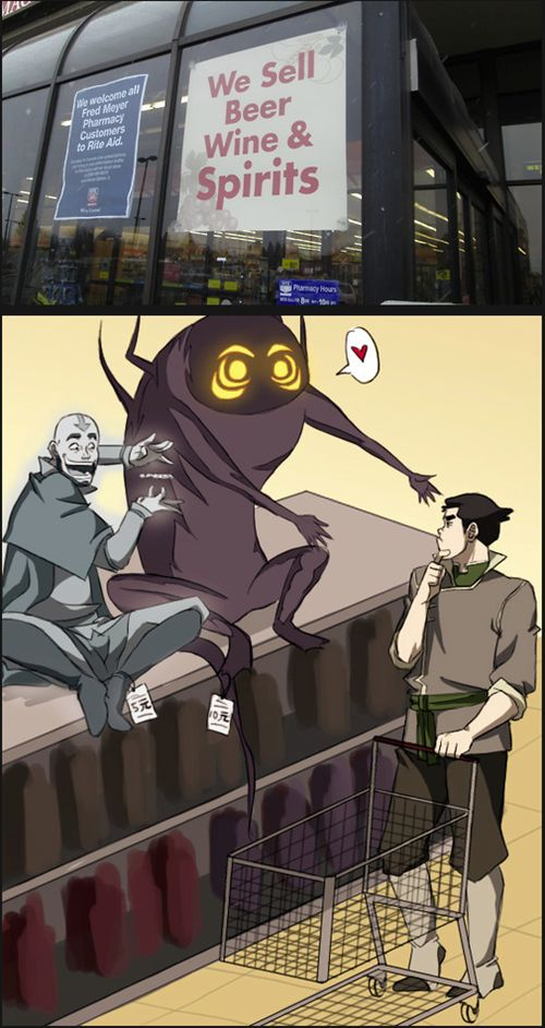 "Discount Spirits! I totally think of this every time I hear ""spirits""! LOK"