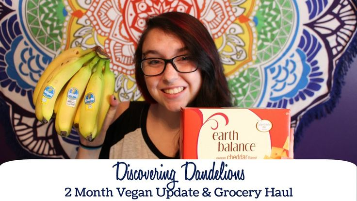 I've been vegan for 2 months now and made my first grocery haul video!
