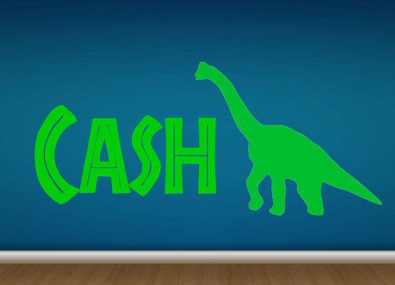 Best Stellas Vinyl Wall Art On Etsy Images On Pinterest Wall - Custom vinyl wall decals dinosaur