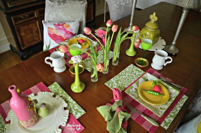 Tablescapes, Welcome Summer! | The Painted Apron
