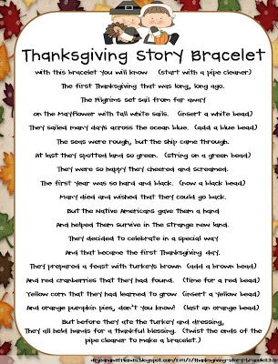 Fluttering Through First Grade: The Story of Thanksgiving