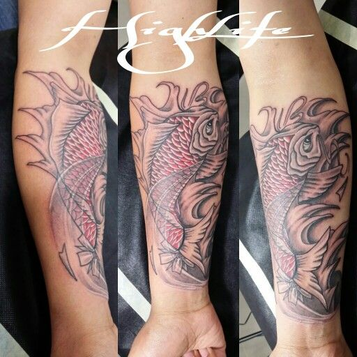 Koi costum design # HIGHLIFE TATTOOS QUITO / ECUADOR