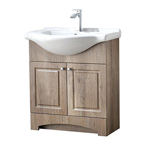 Ressortir Res 19bc025 Bathroom Vanity Weathered Oak Bathroom