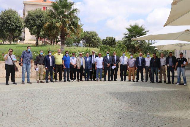 جامعة بيروت العربية تستقبل أساتذة من كليات الطب المصرية لدعم الشعب اللبناني الشقيق Places To Visit Dolores Park Travel