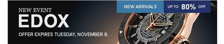 Shop and save up to 80% OFF on EDOX SALE EVENT...