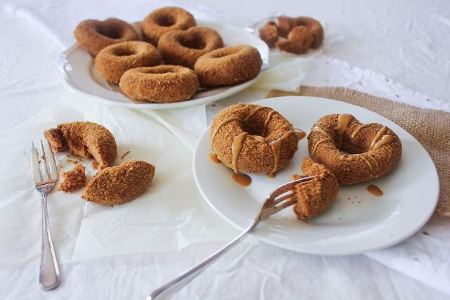 Vegan Gluten Free and Refined Sugar Free Cinnamon Sugar Donuts