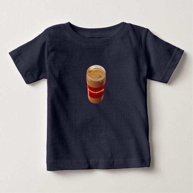 Peanut Butter Jar Group Halloween Costume Baby T-Shirt | Zazzle.com