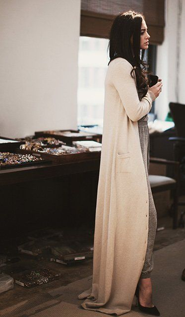 51 best fashiOn : full length cardigan images on Pinterest ...