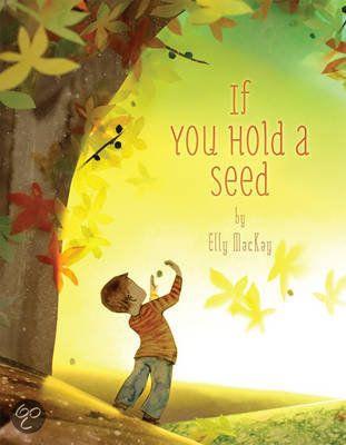#Boekentip Papiergoed: If You Hold a Seed. Prachtig boek van Elly Mackay   Het zijn allemaal collages van papier, of je elke keer in de mooiste kijkdoos kijkt.