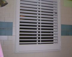 Waterproof Window Treatment for Wood Window in Shower?