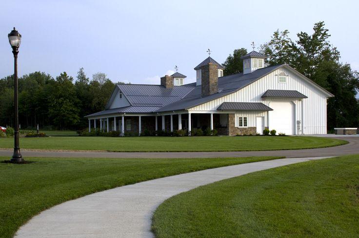 Morton Buildings Home Hobby Shop Combo In Warren Ohio