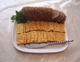 This is a traditional French Canadian sandwich spread. I used to love when my Mémère made this, the house smelt so nice. She used to spread it on toast for us for breakfast, with a bit of mustard, salt and pepper, and it was so yummy.