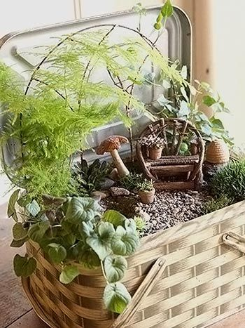 Criando um jardim cheio de fantasia, dicas para enfeitar o verde | Vila do Artesão