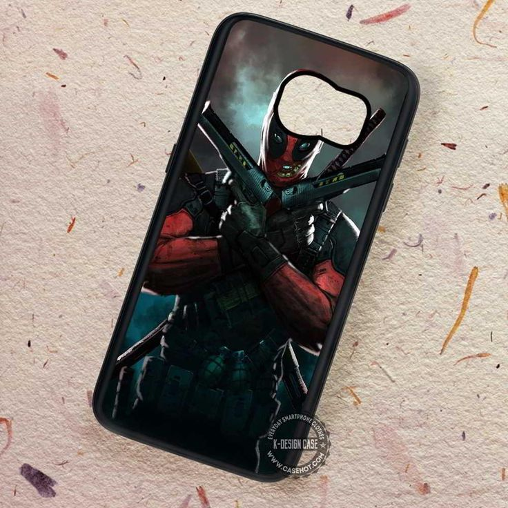 Red Villain Art Deadpool - Samsung Galaxy S7 S6 S5 Note 7 Cases & Covers
