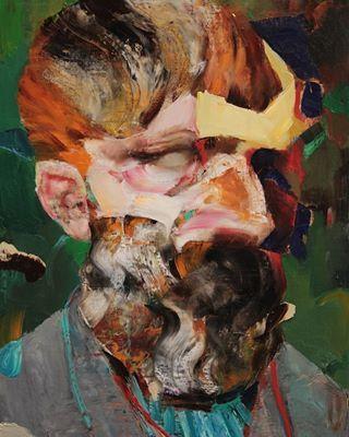 Vincent van Gogh as Old by Adrian Ghenie #adrianghenie
