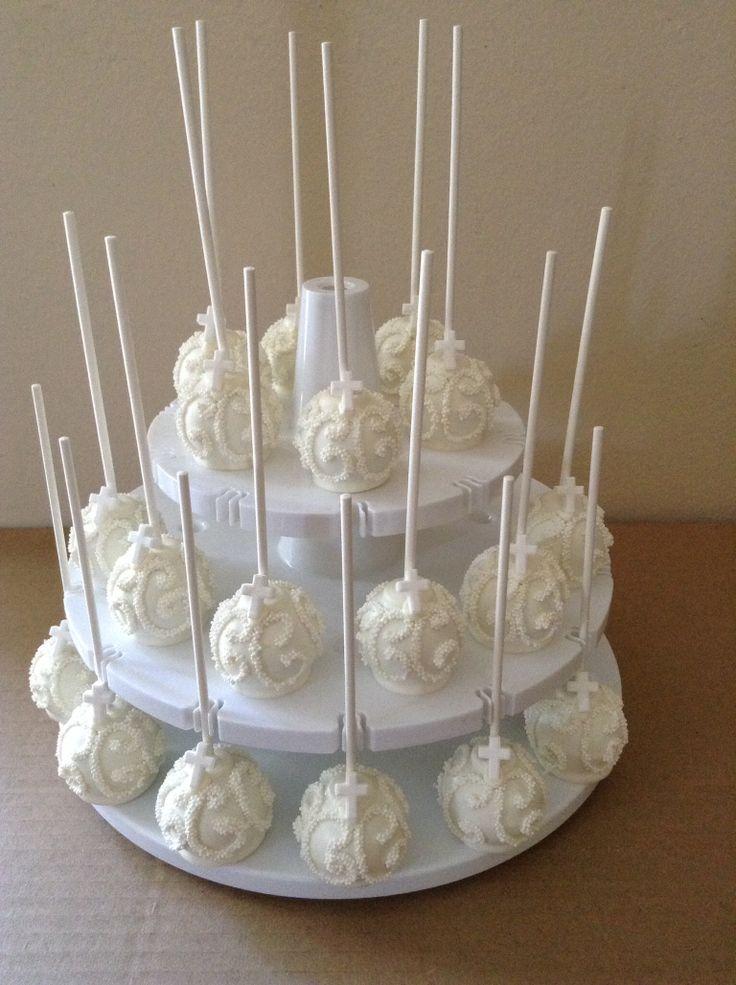 Cake Pop Designs For Christening : Best 25+ Baptism cake pops ideas on Pinterest Baby ...