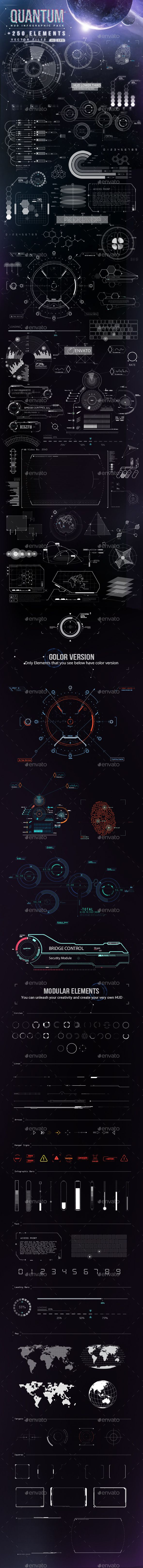 Quantum - HiTech HUD Creator Kit Template #design Download: http://graphicriver.net/item/quantum-hitech-hud-creator-kit/9020363?ref=ksioks