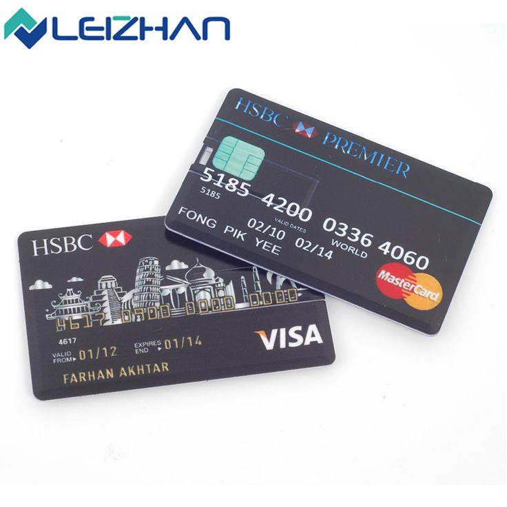 Aliexpress Com Buy Leizhan Personalized Credit Card Usb Flash Drive 4g 8gb16gb 32g 64gb Customized Pen Driveae Black Ae Golde Usb Flash Drive Usb Credit Card