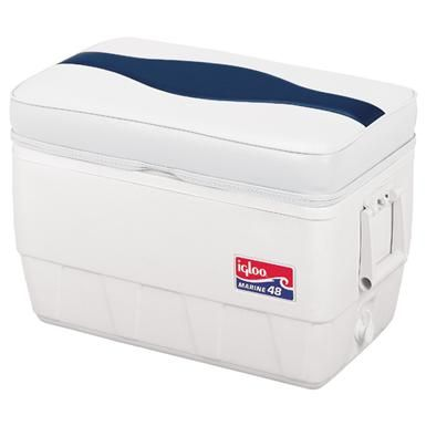 Wise Premium Pontoon 48-quart Cooler Seat